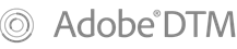 Adobe DTM Logo
