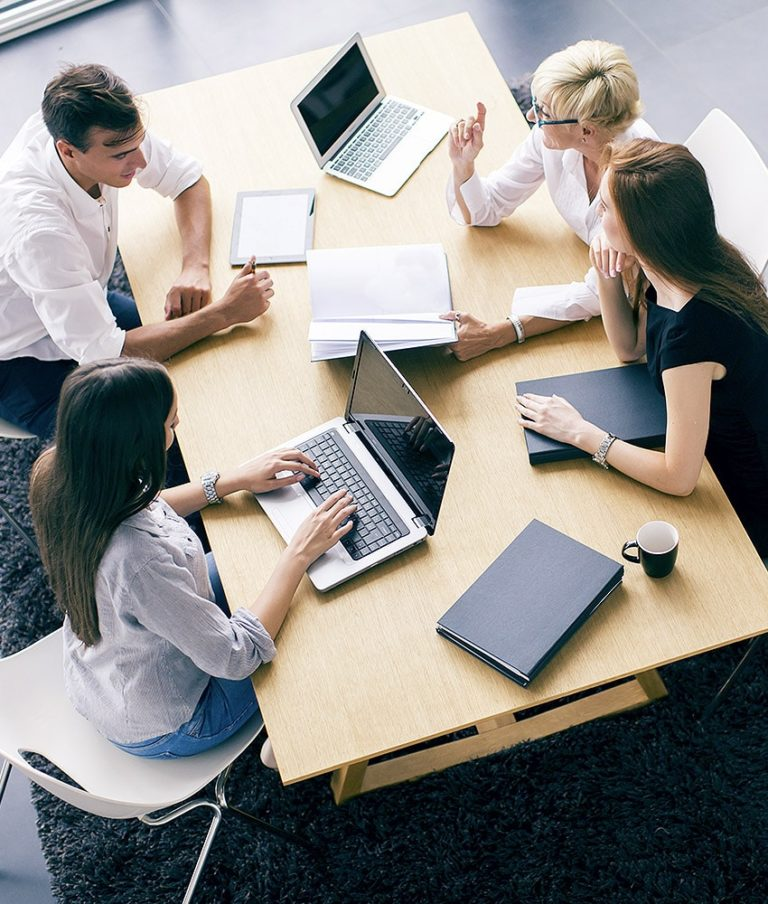 image of people in a meeting