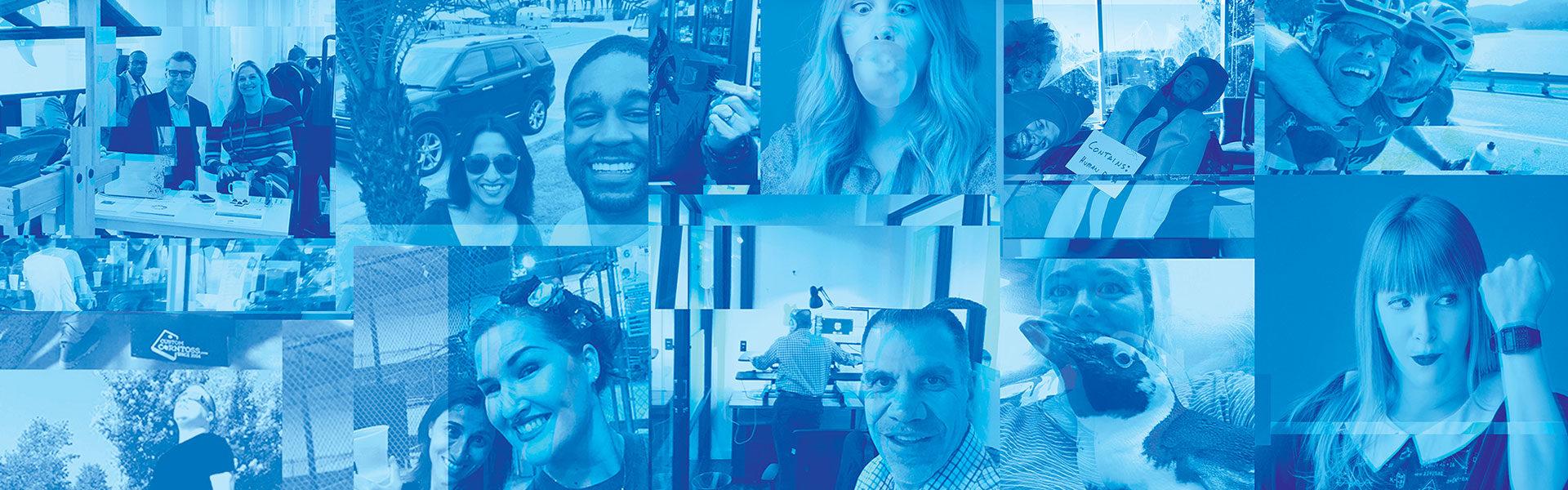 blast teammate collage