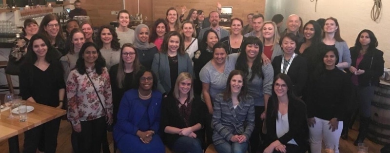 women in analytics 2019 conference speaker dinner