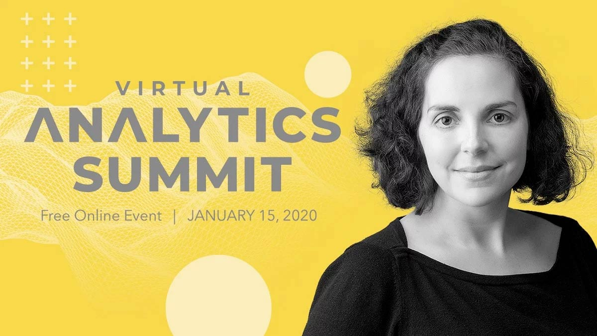 aimee boss to speak at the virtual analytics summit