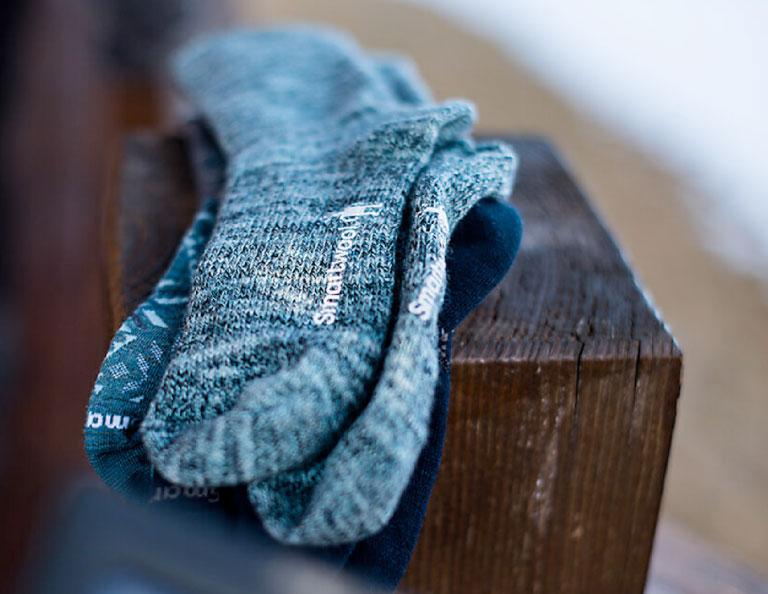 smartwool socks product shot