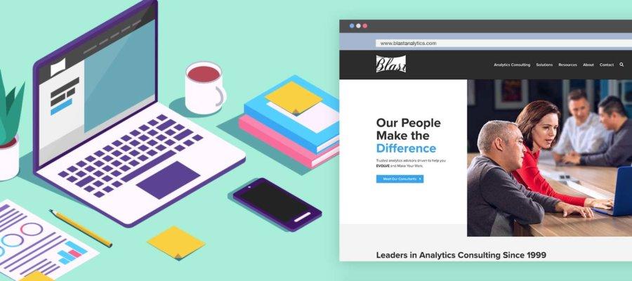blast new website