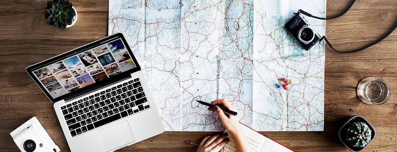 travel planning photo