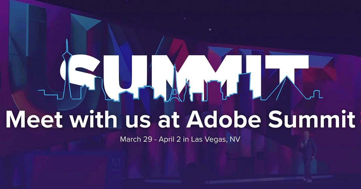 blastanalytics: Whether you're attending #AdobeSummit or not, let's connect! https://t.co/TXBq1h7OLU #analytics #measure