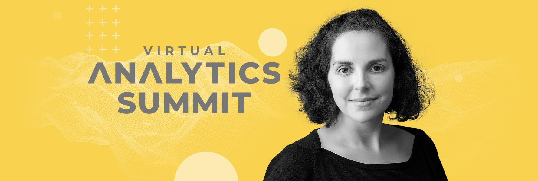 aimee bos at virtual analytics summit