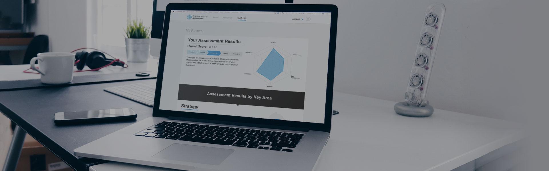 analytics maturity assessment being taken