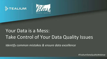 your data is a mess webinar