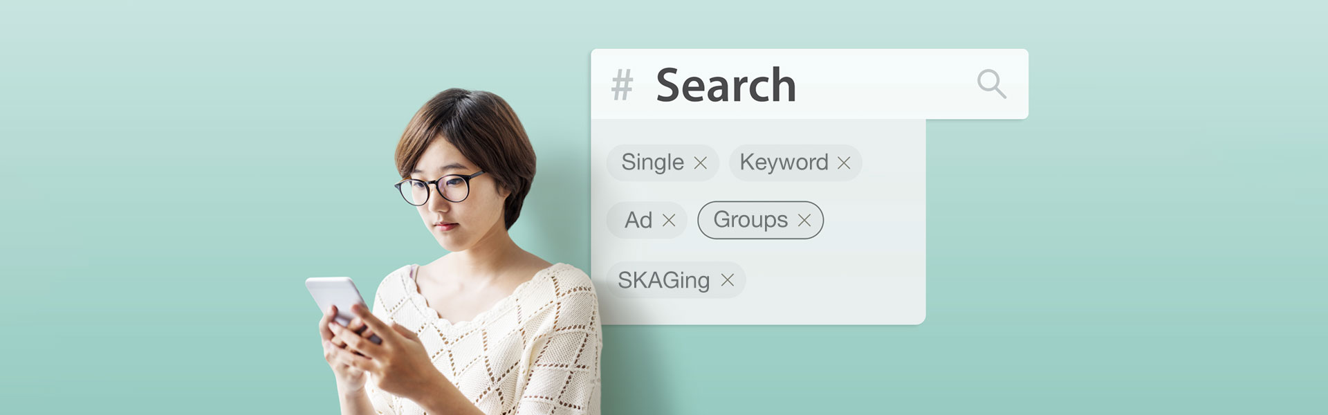 woman optimizing her paid search strategy