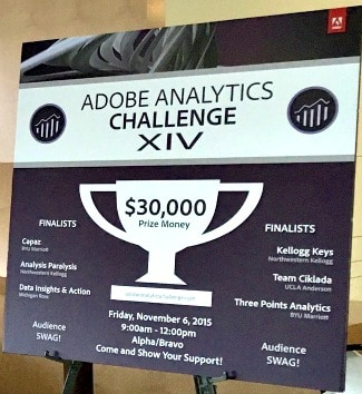 Adobe Analytics Challenge XIV Sign