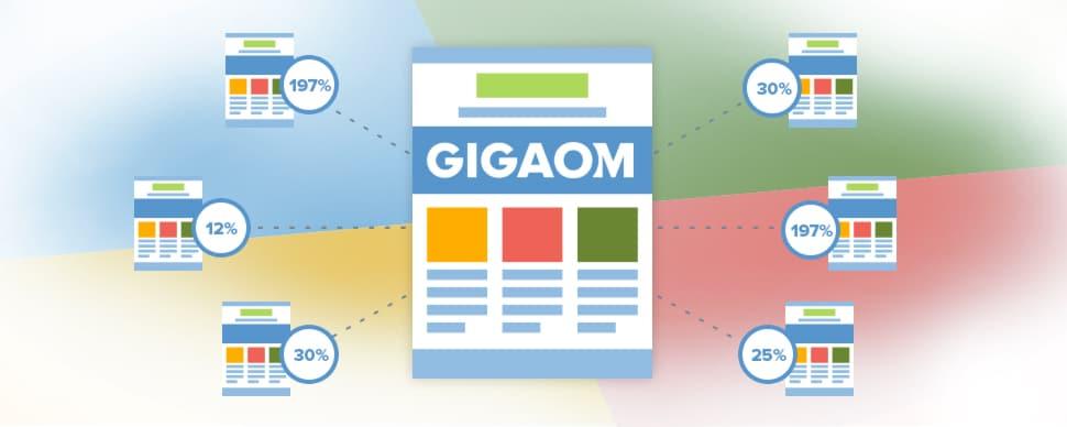 GigaOM: Increased Traffic Value 197% & Eliminated Site Migration Risk