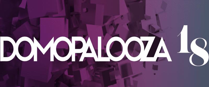 domopalooza 2018 logo