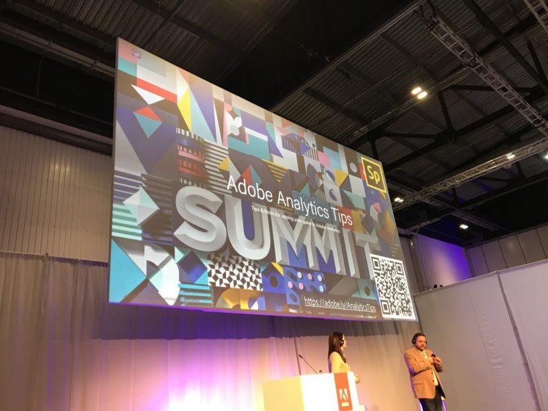 adobe summit analytics tip slide