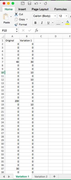formatting csv file for RPV calculator