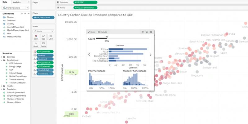 Tableau New Feature Screenshot: tooltip viz