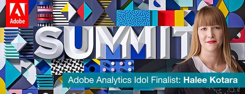 halee at adobe summit 2018