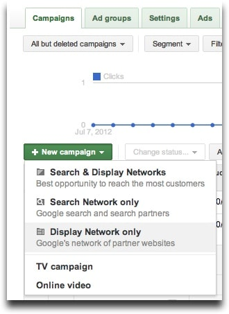 Google Adwords Remarketing - Campaigns