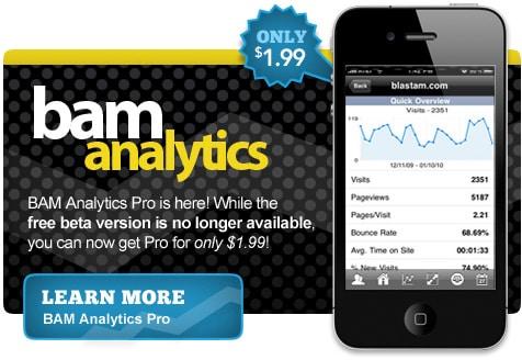 BAM Analytics Pro