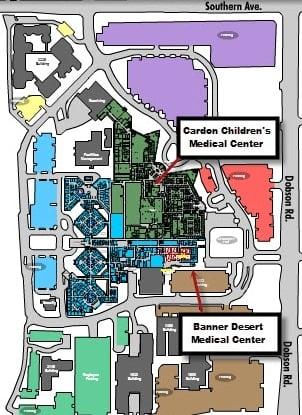 Cardon Children's Medical Center and Banner Desert Medical Center