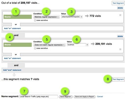 Configure Google Analytics Segment