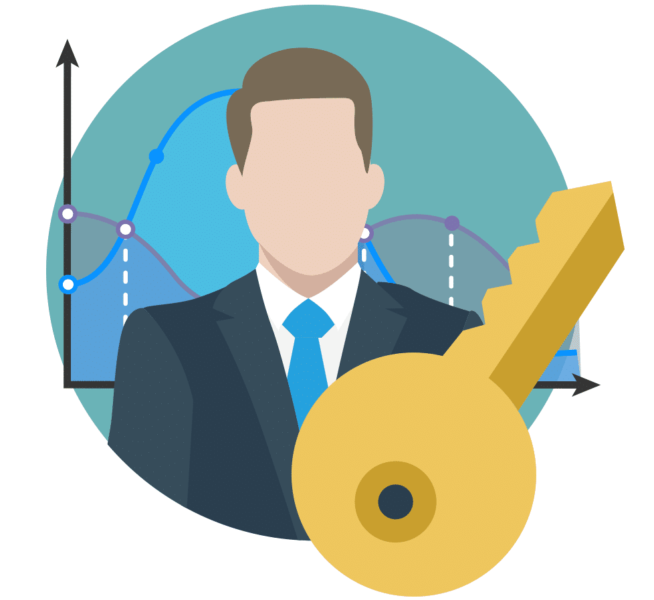 icon representing digital analytics owner