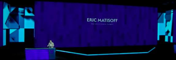 image of eric matisoff presenting
