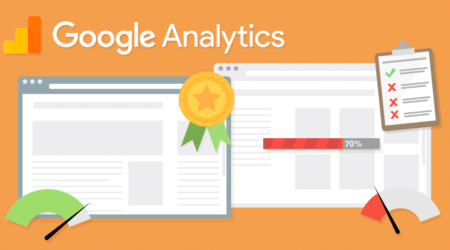 header image illustrating google analytics site speed data quality