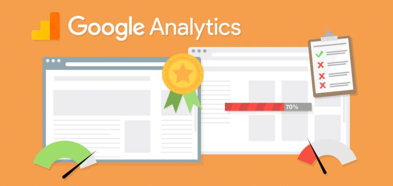 header image illustrating google analytics site speed data quality