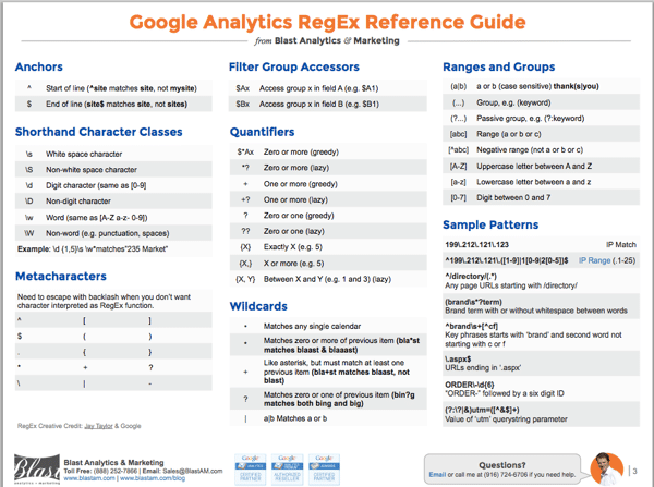 Google Analytics Reference Guide pg 3 [screenshot]