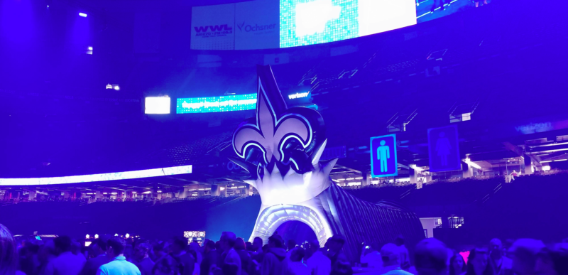 tableau conference 2018 at the mercedes benz super bowl