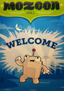 Welcome to MozCon 2012