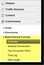 Multi Channel Funnel Navigation