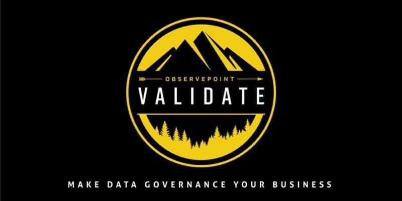 observepoint validate 2018 logo