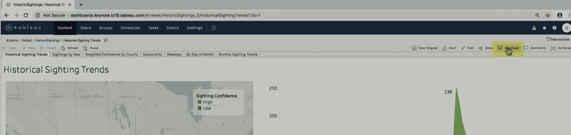 image showing how to download your dashboard from tableau