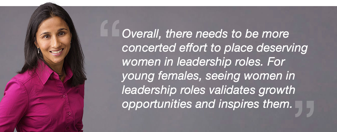 image of blast's roopa carpenter quote regarding women in analytics