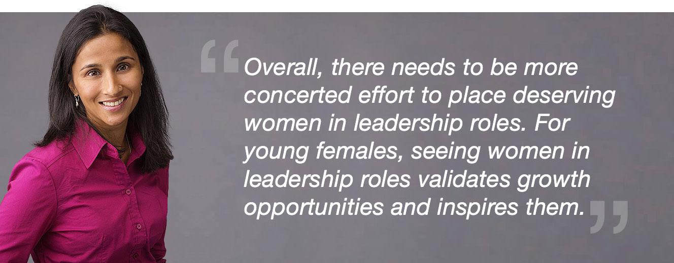 image of blast's roopa carpenter quote regarding women in analytics