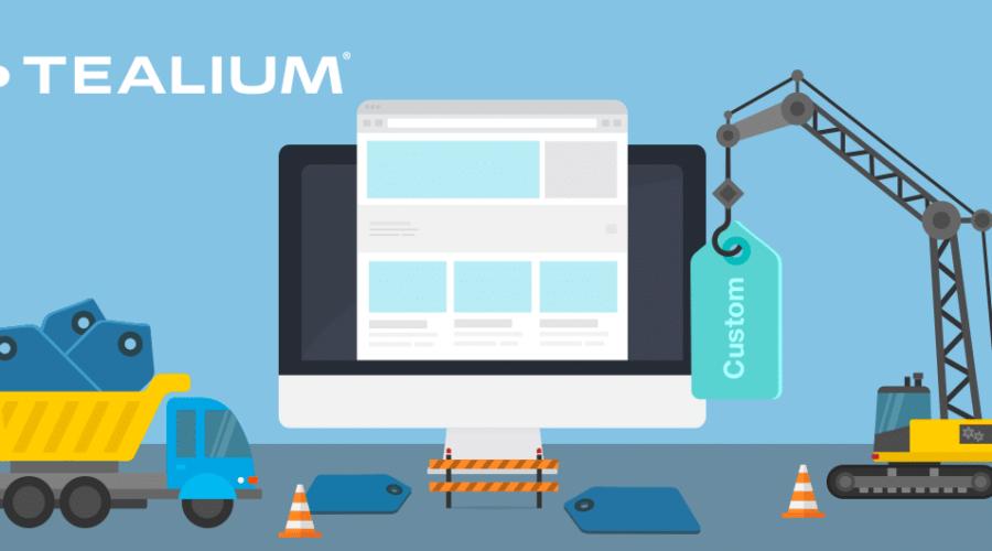 header image for tealium custom tag blog post