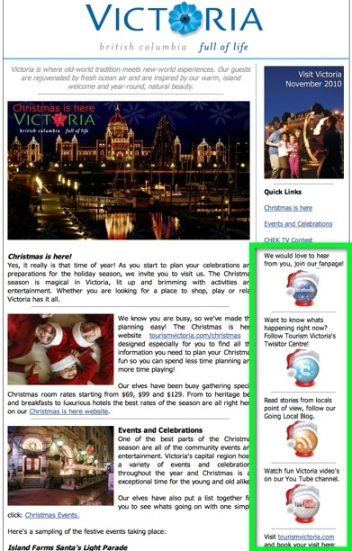 Tourism Victoria Newsletter Example
