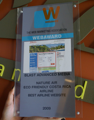 2009 Best in Industry WebAward