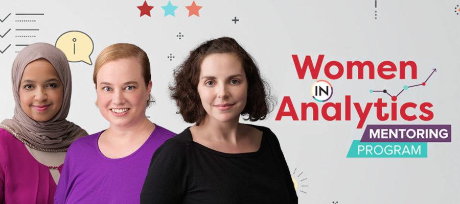 women in analytics mentoring program